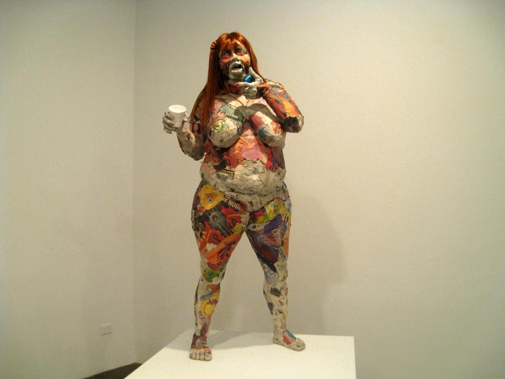 Will kurtz s paper sculptures bring ordinary new yorkers