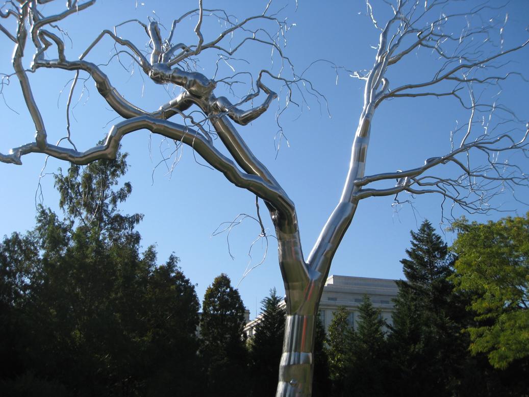 Как сделать металлическое дерево 637