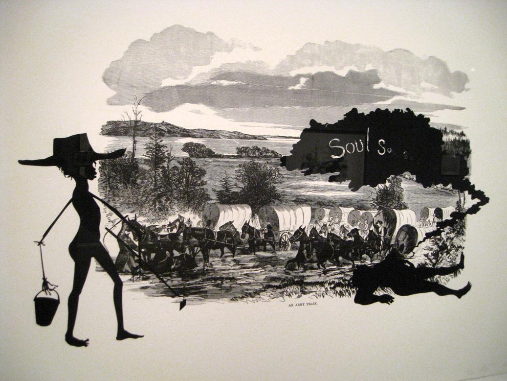 Kara Walker Interprets the Civil War in Black-and-White ...