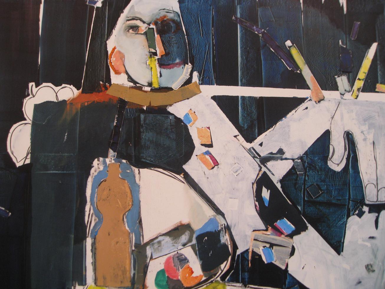 At Gladstone, Magnus Plessen's Painting Technique Creates