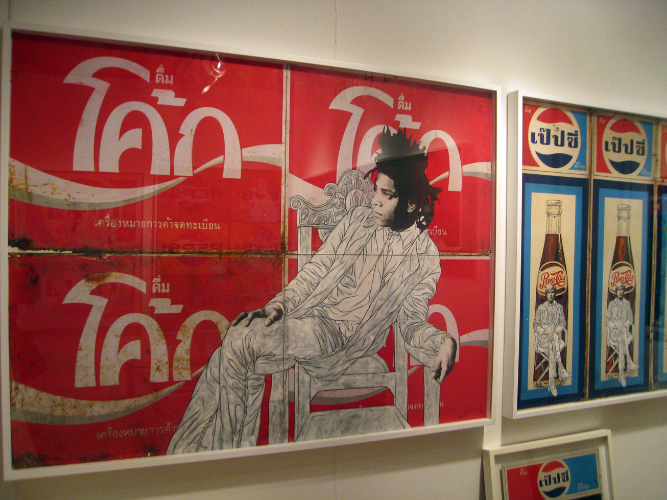 Pakpoom Silaphan Brilliantly Recasts Vintage Ad Signs With
