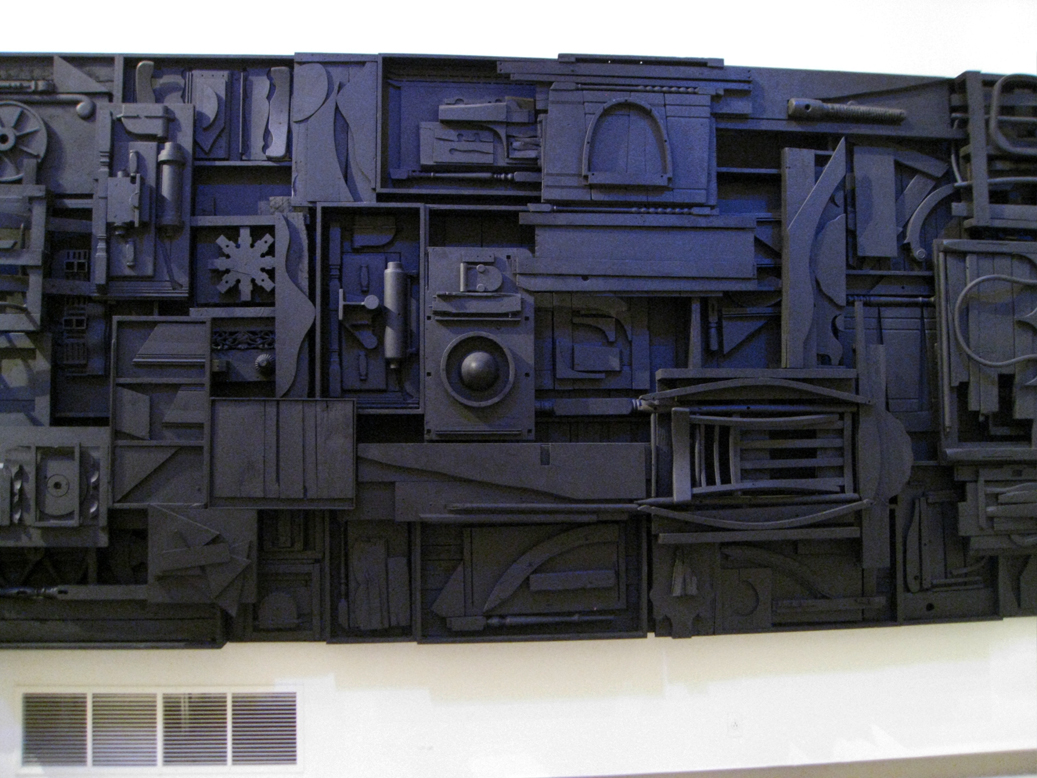 louise nevelson sky cathedral With that out of the way, i would like to address louise nevelson's sculptures the first image is a good example of her early work, first personage was done in 1956, right about the same time she started doing pieces like sky cathedral (which she is most famous for.