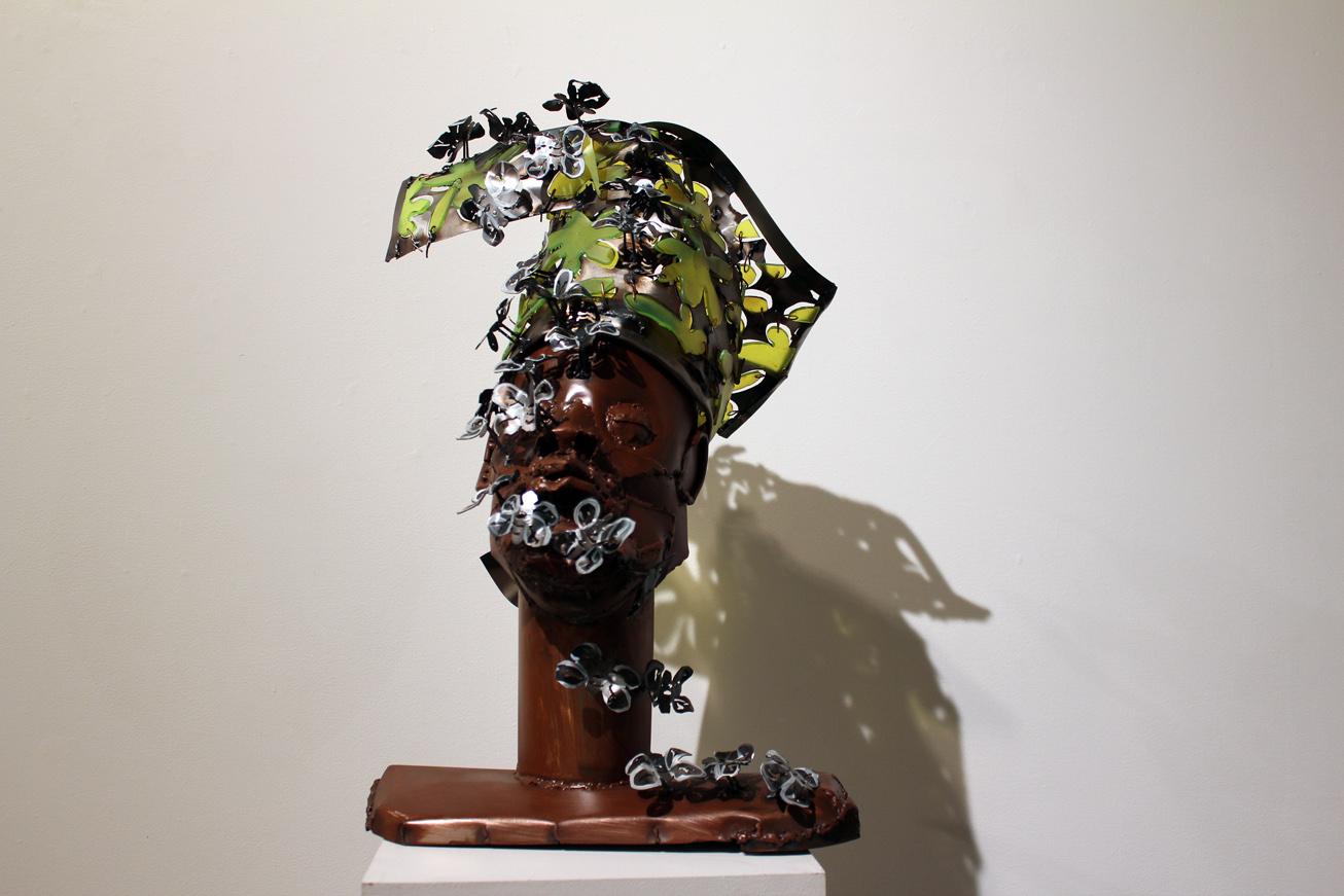 Is Acrylic Paint Toxic >> 'Dressed to the Nines': Sokari Douglas Camp Depicts Fellow Nigerian Immigrants   Arts Observer