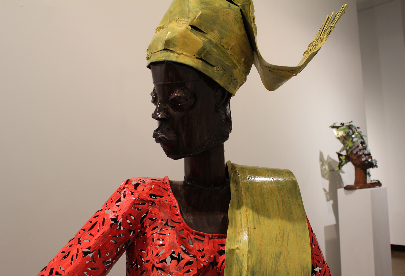 Is Acrylic Paint Toxic >> 'Dressed to the Nines': Sokari Douglas Camp Depicts Fellow ...