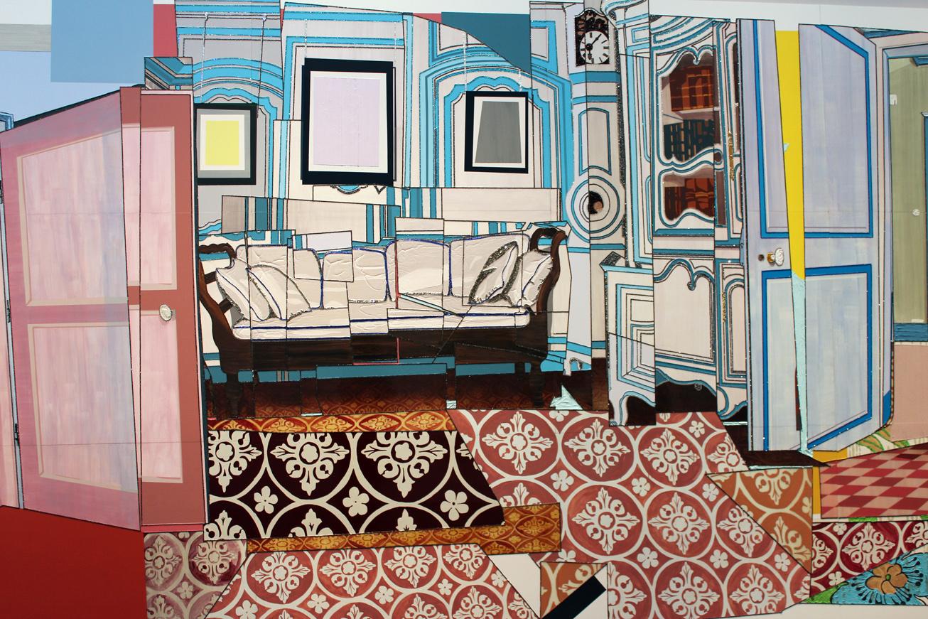e5b72b5ed522d Interior Glam: Mickalene Thomas at Lehmann Maupin | Arts Observer