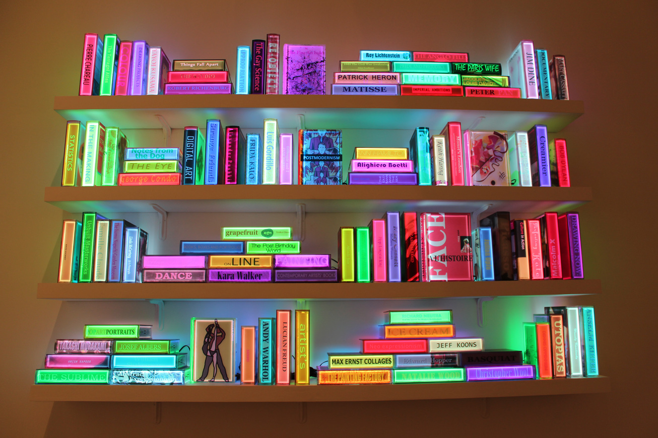 Airan Kang's Illuminated Bookshelf | Arts Observer