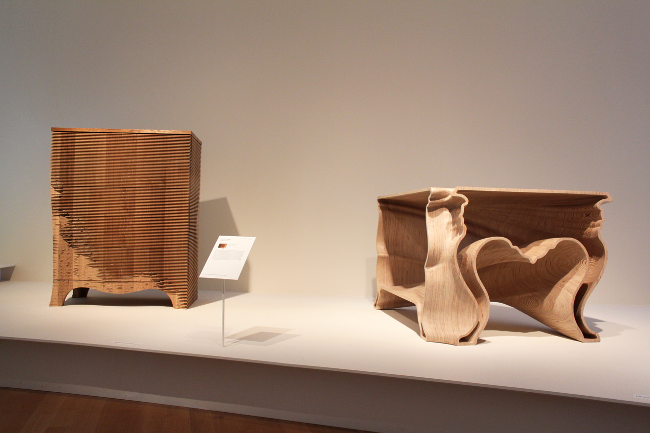 At museum of arts and design amazing wood furniture for Most amazing furniture design