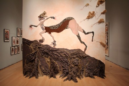 The Fantastic, Feminine and Futuristic  Work of Wangechi Mutu