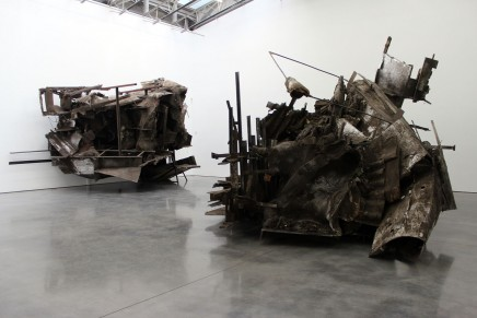 Peter Buggenhout: Sculptural Complexity, Industrial Salvage