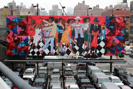 Faith Ringgold Brings Uptown Groove to High Line