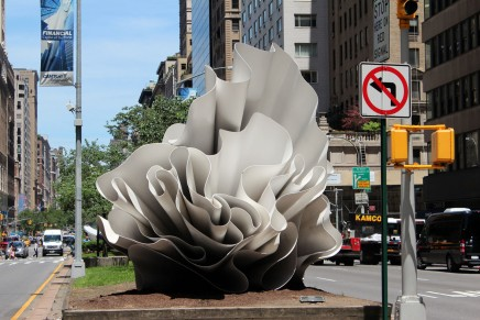 Alice Aycock: Windswept on Park Avenue